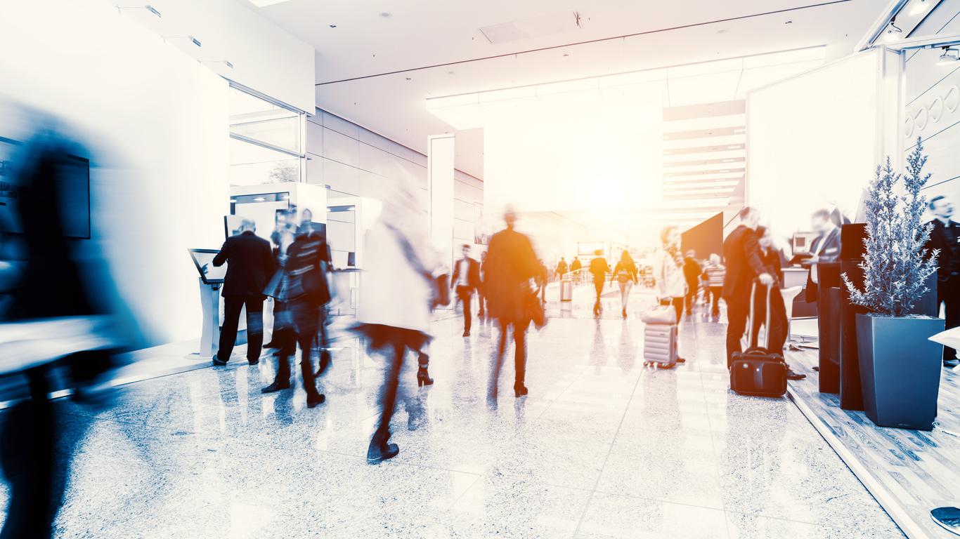 Trend der MUBA-Besucherzahlen